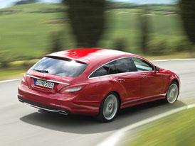 Mercedes-Benz zveřejnil ceny všech verzí CLS Shooting Brake