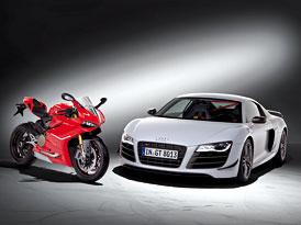 Audi dokon�ilo p�evzet� Ducati