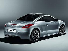 Peugeot RCZ Onyx pro Francii a N�mecko