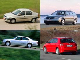 Ojeté auto za 100 tisíc: Co se dá koupit?