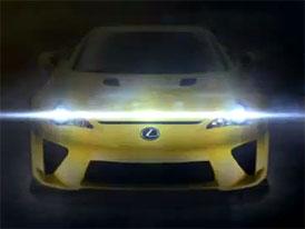 Lexus LFA: Jakou premiéru připravuje automobilka na 1. srpna?