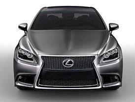 Nový Lexus LS na prvních fotografiích