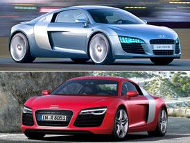 Audi R8 a jeho p�edch�dci: Koncepty let 1991 - 2004