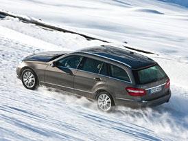 4Matic zdarma: 4x4 pro Mercedesy C 250 CDI a E 250 CDI nyní bez příplatku
