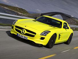 Mercedes-Benz uvažuje o elektrickém SLS AMG E-Cell Roadster