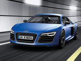 Modernizované Audi R8 na nových fotkách
