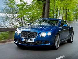 Continental GT Speed: Nejrychlejší Bentley dorazí na Salon Privé