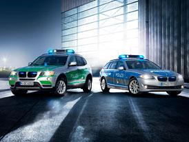 BMW ve službách policie: nové hračky pro Semira