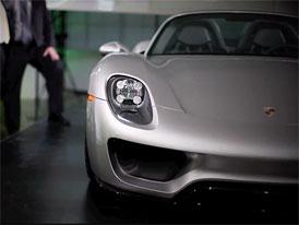 Další premiéra na soukromé party: Porsche 918 Spyder