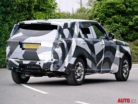 Spy Photos + video: Nový Range Rover Sport přistižen při testování