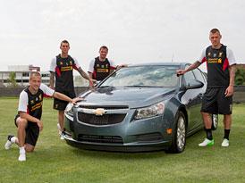 Chevrolet ut�p� stamili�ny dolar� v anglick�m fotbalu
