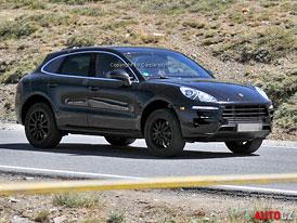 Spy Photos: Porsche Macan nemá co tajit