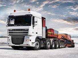 Úspěšný start DAF Trucks v Rusku