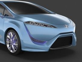 Sériová Toyota na vodík už v roce 2015