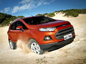 Malé SUV Ford EcoSport se začalo prodávat, zatím v Brazílii