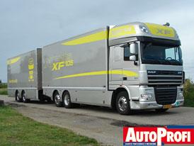 Test: DAF XF105 - Maxipřeprava