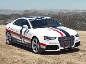 Audi RS 5 Pikes Peak v galerii a na videu