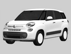 Takto bude vypadat Fiat 500XL