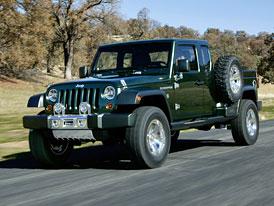 Jeep chystá Wrangler Pickup