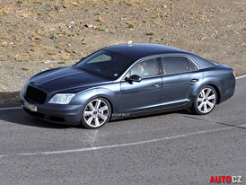 Spy Photos: Bentley Continental Flying Spur