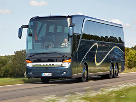 Setra S 416 HDH: Bezpečnost a komfort
