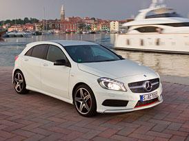 Mercedes-Benz třídy A se představuje na nových fotografiích