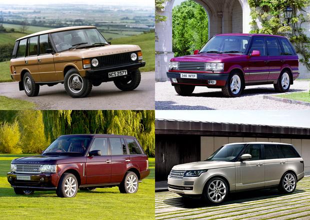 Design po generacích: Range Rover