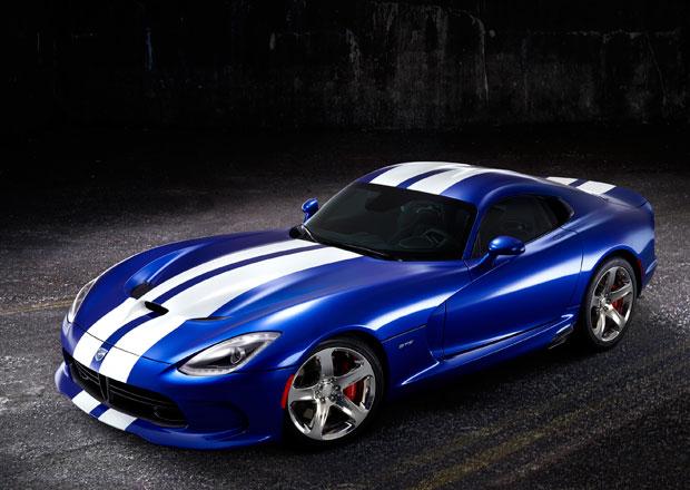 SRT Viper GTS Launch Edition: Zmije v ikonické modré