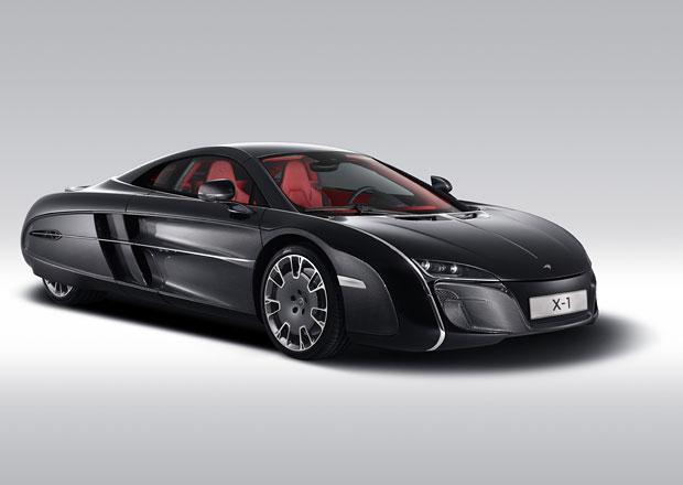 McLaren X-1: Karbonové retro pro bohatého klienta