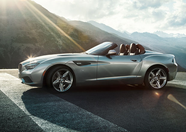 BMW Zagato Roadster se představil v Pebble Beach