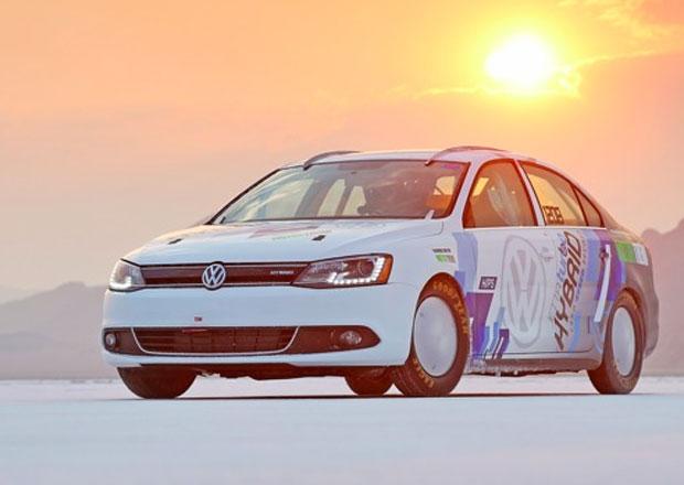 VW Jetta je nejrychlejším hybridem na světě