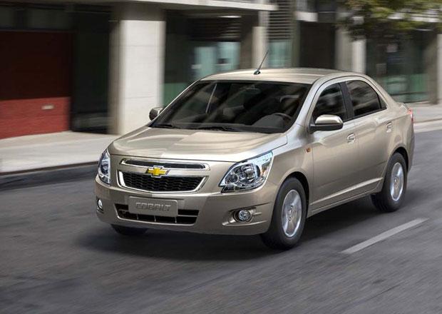 Chevrolet Cobalt a TrailBlazer: Nov� modely pro v�chodn� Evropu