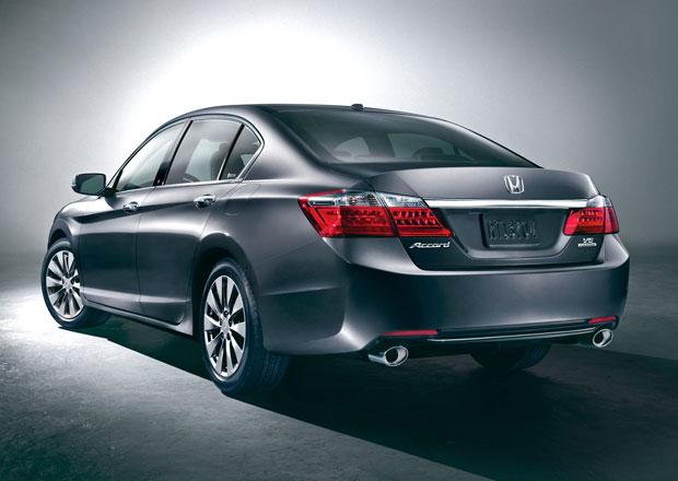 Honda zahaujuje výrobu nového Accordu