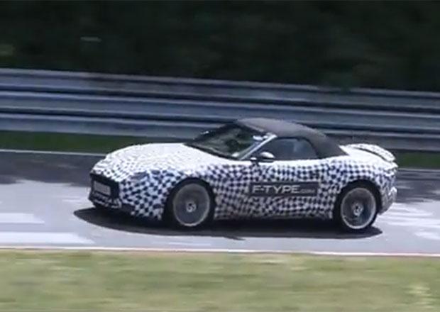 Spy video: Jaguar F-Type na Nürburgringu