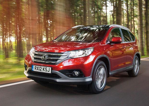 Honda CR-V 2013 v nové rozsáhlé fotogalerii