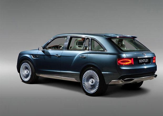 SUV Bentley bude mít třetí řadu sedadel – pro služebnictvo