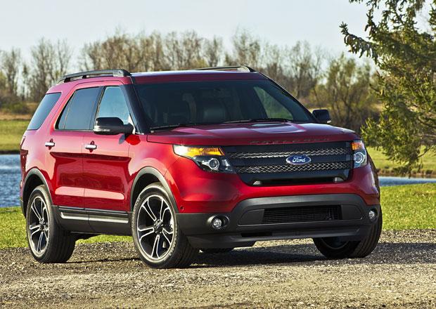 Ford Explorer Sport vystihuje americkou představu o sportovním SUV (galerie, video)