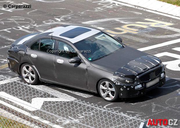 Spy Photos: Mercedes-Benz třídy C (2014)