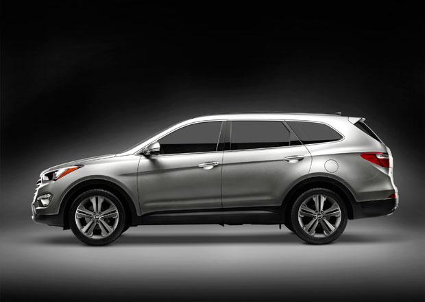 Nov� Hyundai Santa Fe m� pol��eno na rodiny s d�tmi