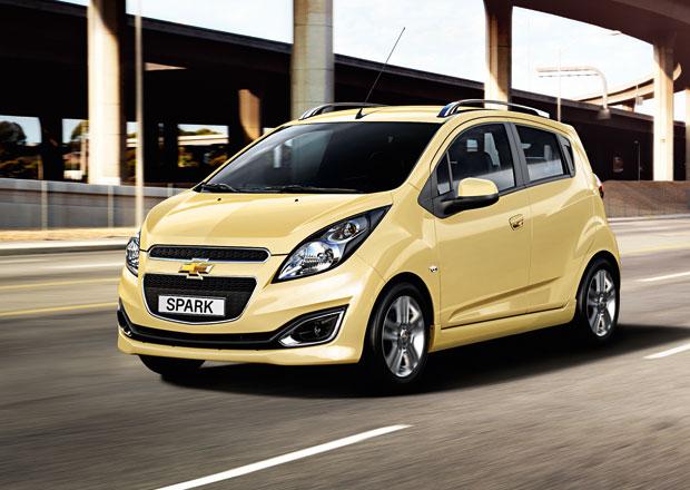 Chevrolet ukáže v Paříži nejen Trax, ale i modernizovaný Spark a dieselové Malibu