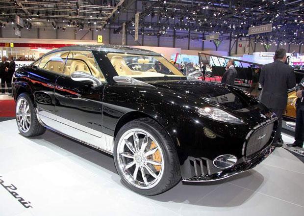 Spyker D8 Peking-to-Paris má být plug-in hybridní SSUV
