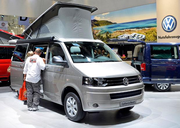 Volkswagen Užitkové vozy na Caravan Salon 2012