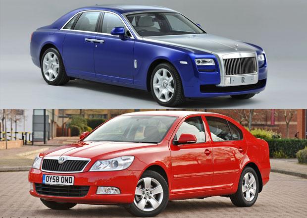 Rolls-Royce prod�v� v Monaku tolik aut jako �kodovka