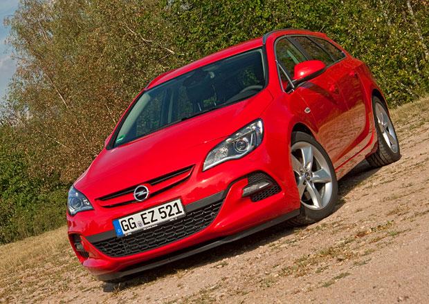 Opel Astra 2013 BiTurbo: Jízdní dojmy