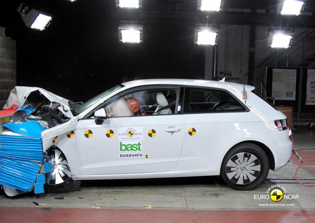 Euro NCAP 2012: Audi A3 � P�t hv�zd poprv� v historii