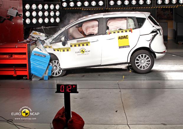 Euro NCAP 2012: Ford B-Max – Pět hvězd i bez B-sloupku