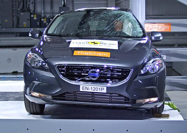 Euro NCAP 2012: Volvo V40 – Pět hvězd a je nejlepší v ochraně chodců