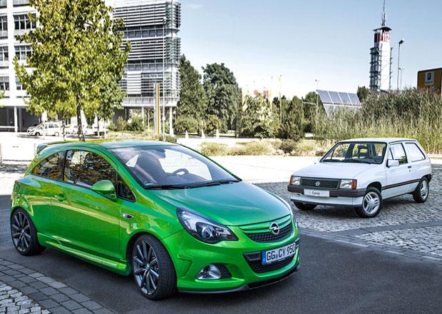 Opel Corsa slaví třicetiny