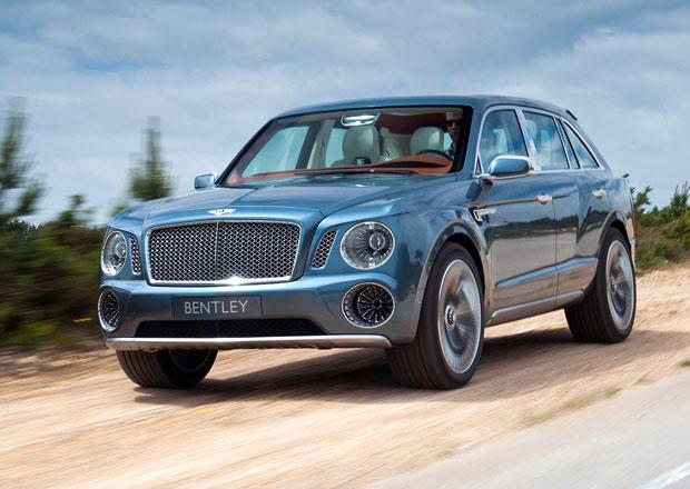 Plánované SUV od Bentley se patrně bude vyrábět v Bratislavě