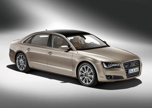 P��t� generace Audi A8 �dajn� dostane pohon zadn�ch kol